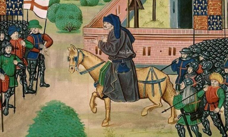 Uprisings after pandemics have happened before – just look at the English Peasant Revolt of 1381