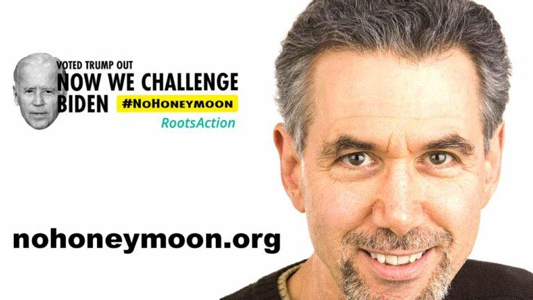 No Honeymoon for Biden – Jeff Cohen