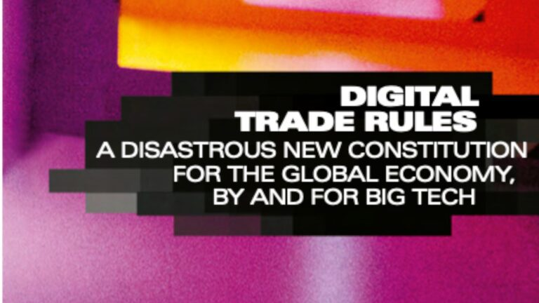 Big Tech Goes For the Kill at the World Trade Organization