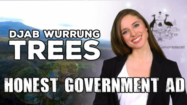 Destroying 300-Year-Old Trees in Australia – Satire from Juice Media