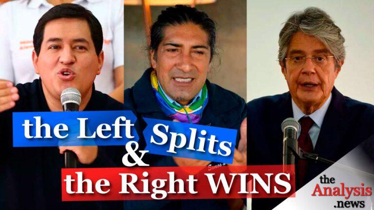 Ecuador's Socialist Loses as Left Splits
