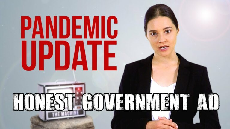 """Brilliant and Much Needed Political Satire – """"An Honest Government Ad"""""""