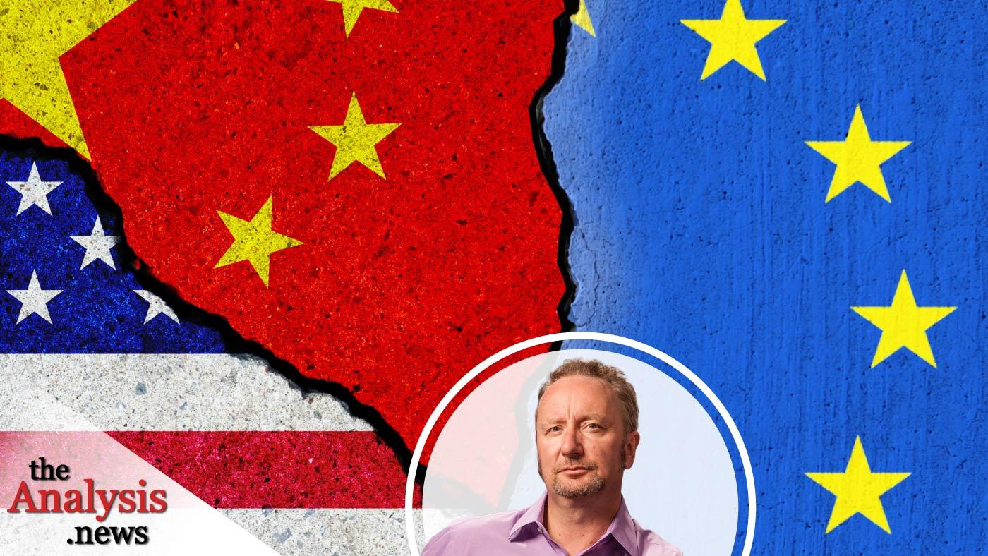 "Mark Blyth - E.U. is Split Over ""Strategic Autonomy"", China and U.S. Hegemony"