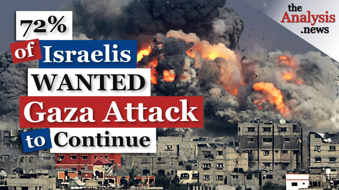 Why Did 72% of Israelis Want Attack on Gaza to Continue?