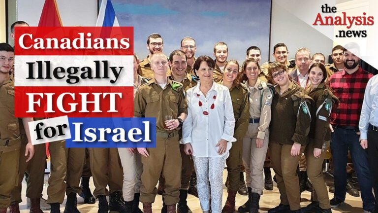 Canada Allows Illegal Volunteers to Fight for Israel