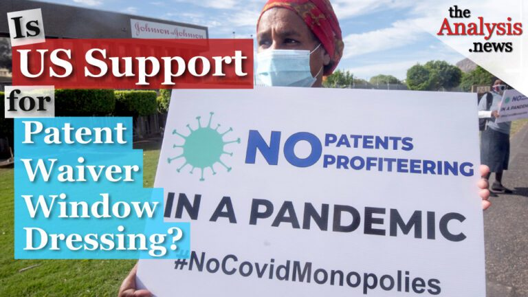 Is US Support for Vaccine Patent Waiver Window Dressing?