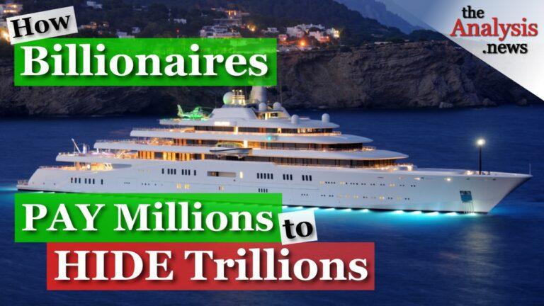 How Billionaires Pay Millions to Hide Trillions – Chuck Collins