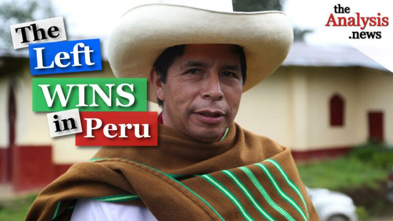 The Left Wins Peru's Presidential Election
