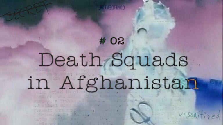 CIA Stories: Death Squads in Afghanistan