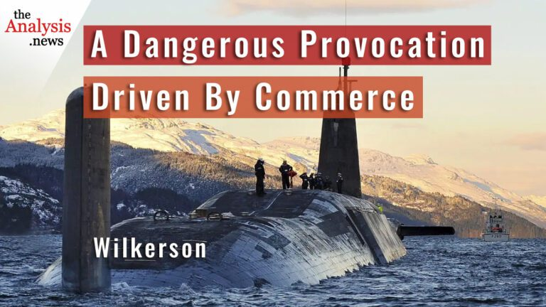 A Dangerous Provocation Driven By Commerce – Wilkerson