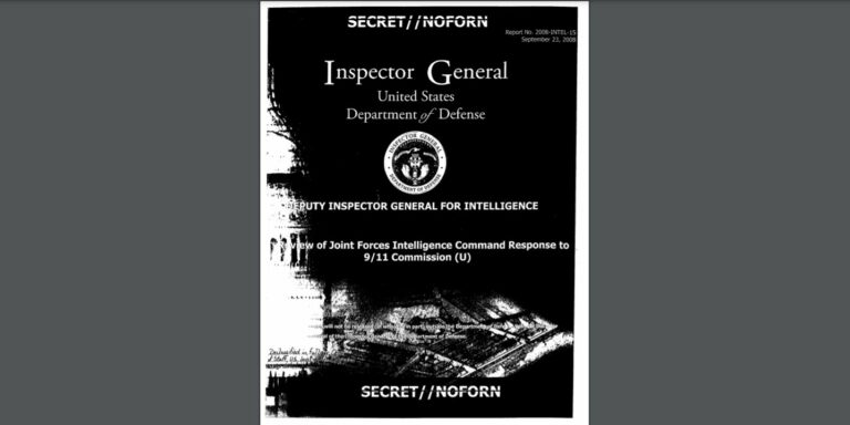 Intelligence on Bin Laden, 9/11 Targets Withheld from Congress' Probe